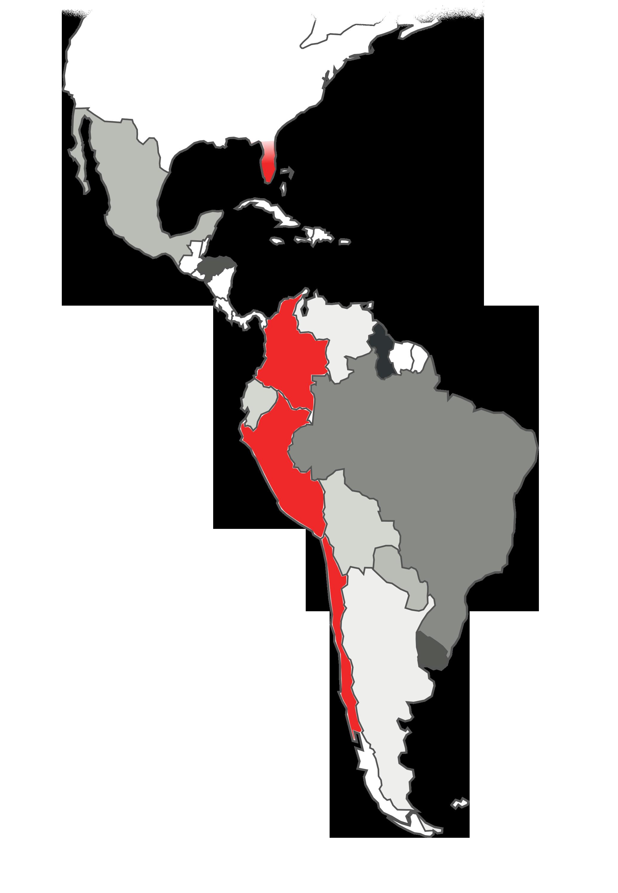 Mapa con sedes 3HTP