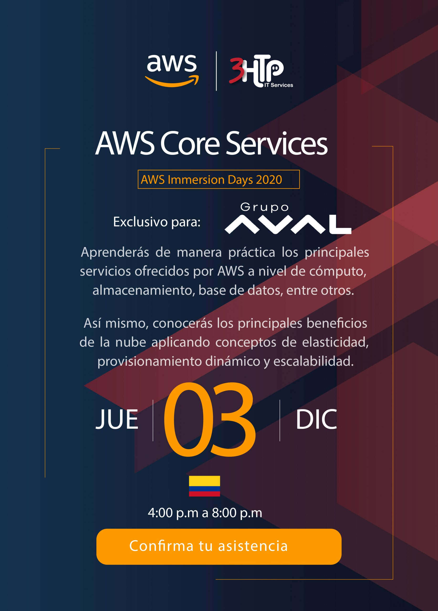 AWS Immersion Day Core Services